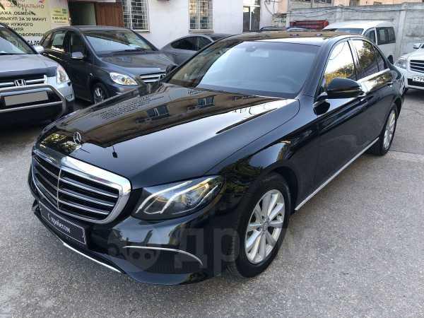 Mercedes-Benz E-Class, 2017 год, 1 870 000 руб.