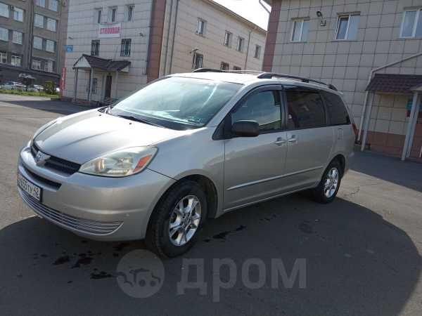 Toyota Sienna, 2004 год, 550 000 руб.