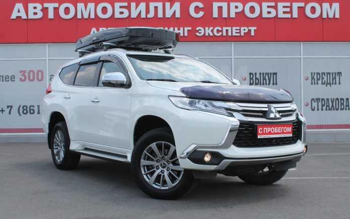 Mitsubishi Pajero Sport, 2017 год, 1 820 000 руб.