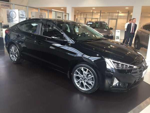 Hyundai Elantra, 2019 год, 1 405 000 руб.