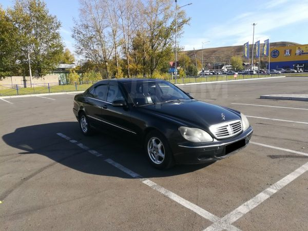 Mercedes-Benz S-Class, 1999 год, 285 000 руб.