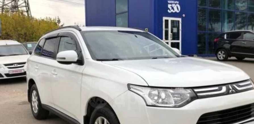 Mitsubishi Outlander, 2014 год, 870 000 руб.