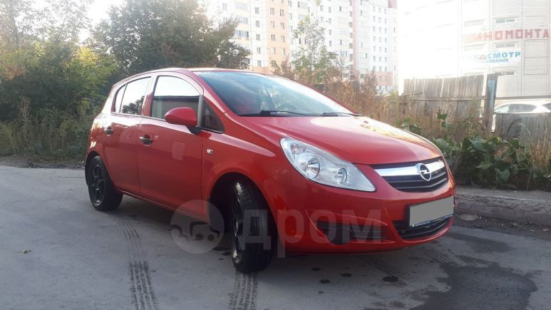 Opel Corsa, 2008 год, 199 000 руб.