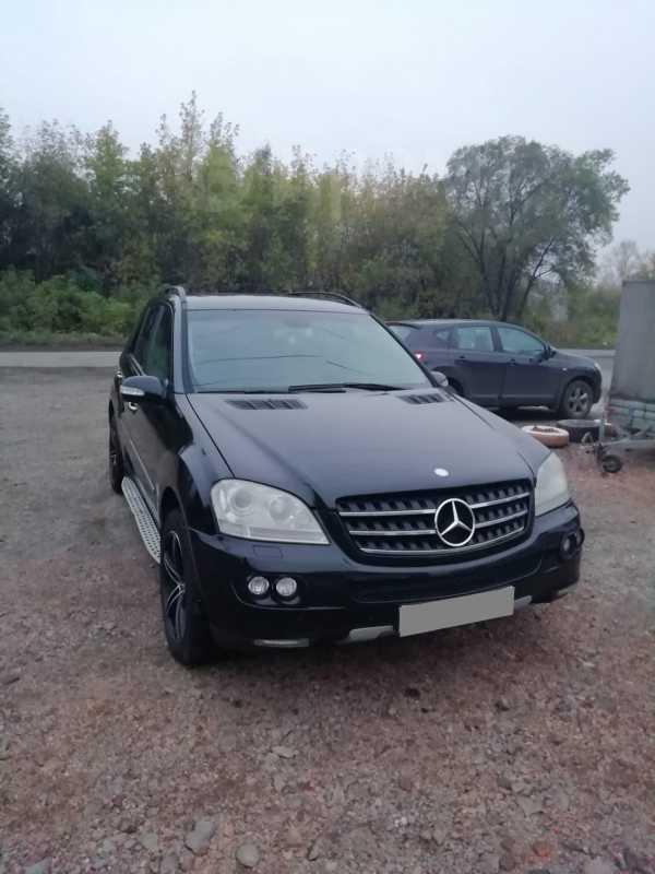 Mercedes-Benz M-Class, 2007 год, 500 000 руб.