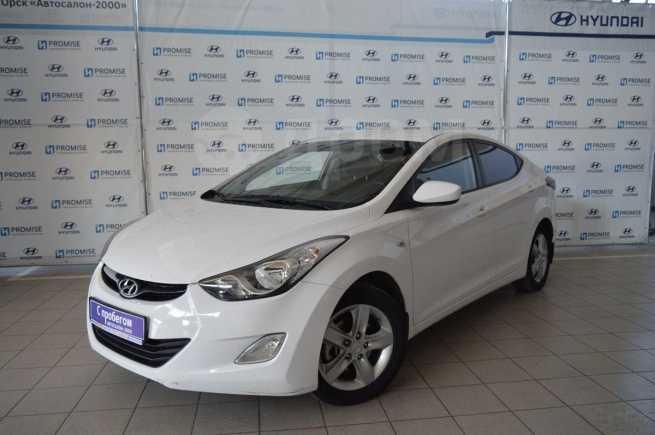 Hyundai Elantra, 2013 год, 570 000 руб.
