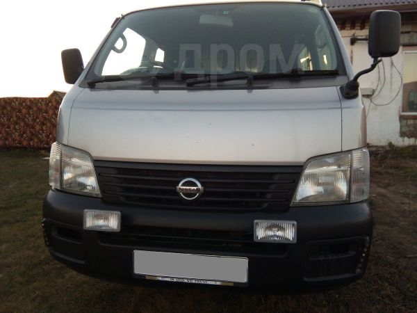 Nissan Caravan, 2002 год, 290 000 руб.