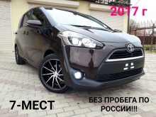 Краснодар Sienta 2017