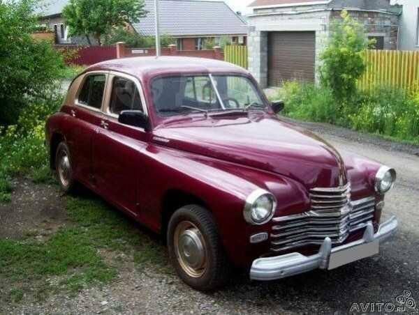 ГАЗ Победа, 1955 год, 270 000 руб.