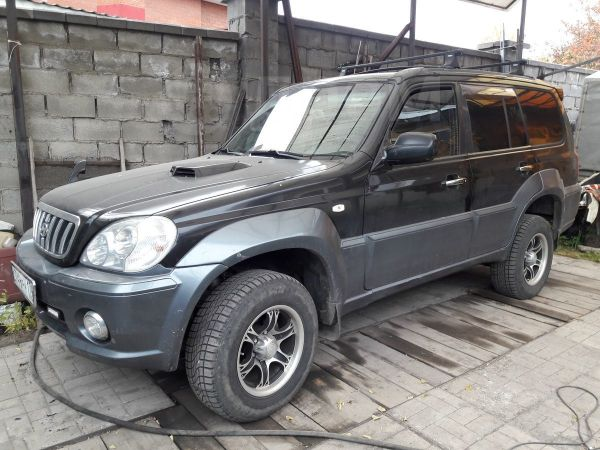 Hyundai Terracan, 2001 год, 388 000 руб.