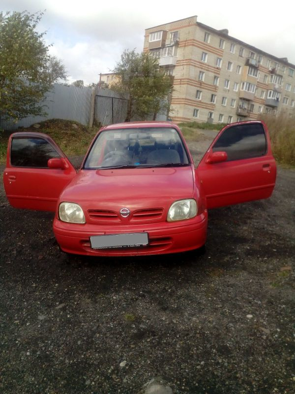 Nissan March, 1997 год, 60 000 руб.
