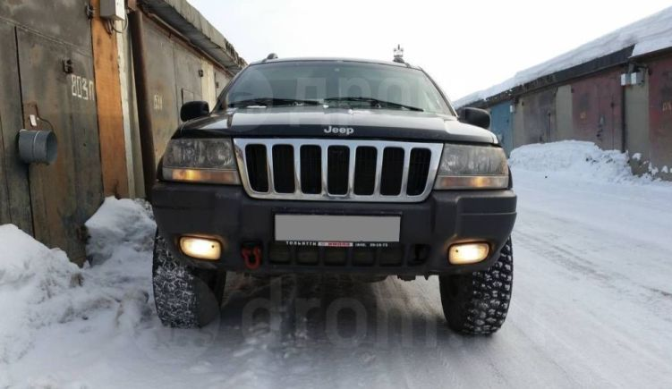 Jeep Grand Cherokee, 1999 год, 430 000 руб.