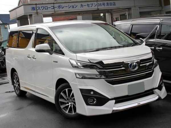 Toyota Vellfire, 2016 год, 1 269 000 руб.