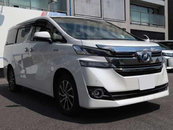 Toyota Vellfire, 2016 год, 1 360 000 руб.
