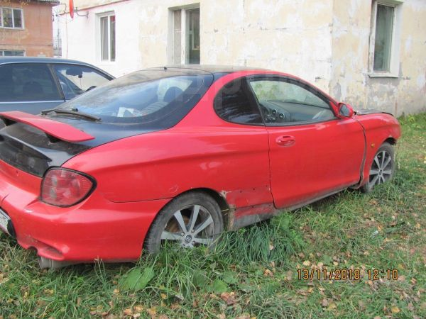 Hyundai Tiburon, 2001 год, 70 000 руб.
