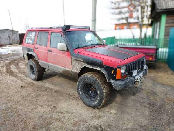 Jeep Cherokee, 1989 год, 345 000 руб.