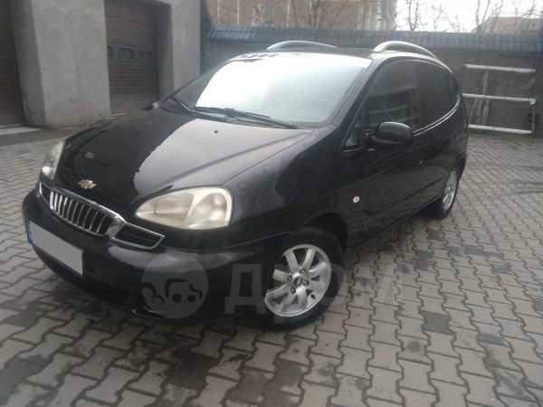 Chevrolet Rezzo, 2006 год, 135 000 руб.