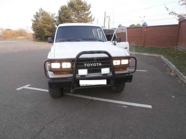 Toyota Land Cruiser, 1989 год, 749 999 руб.