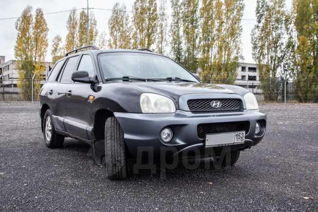 Hyundai Santa Fe, 2004 год, 249 000 руб.