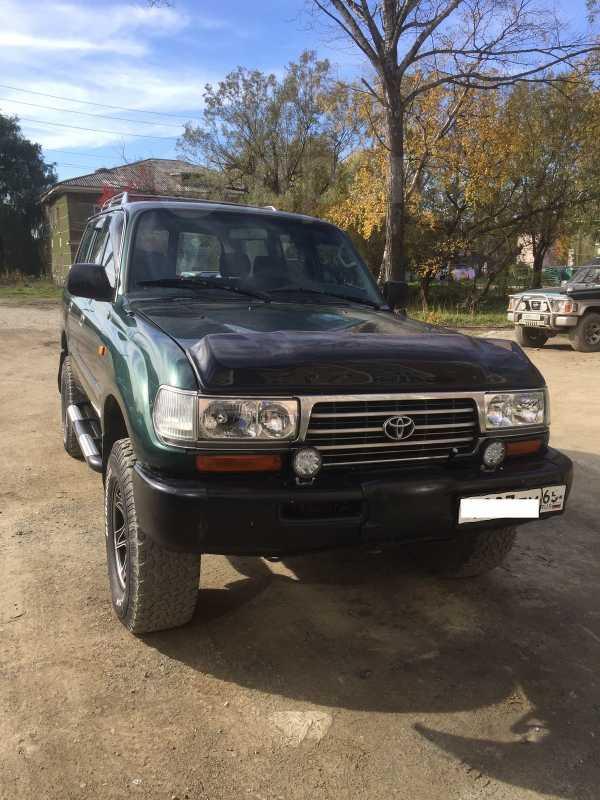 Toyota Land Cruiser, 1996 год, 950 000 руб.