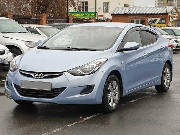 Hyundai Elantra, 2012 год, 649 001 руб.