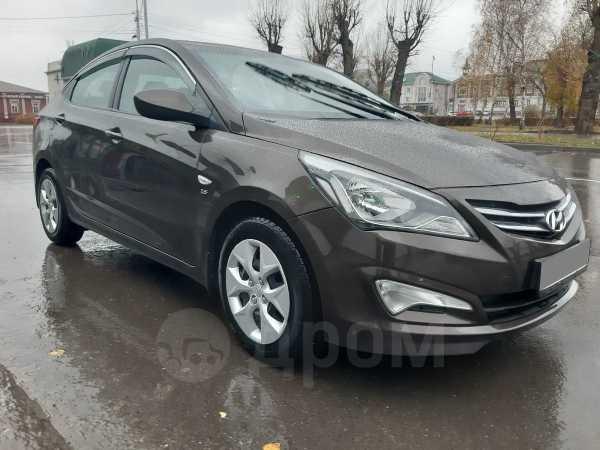 Hyundai Solaris, 2016 год, 547 000 руб.