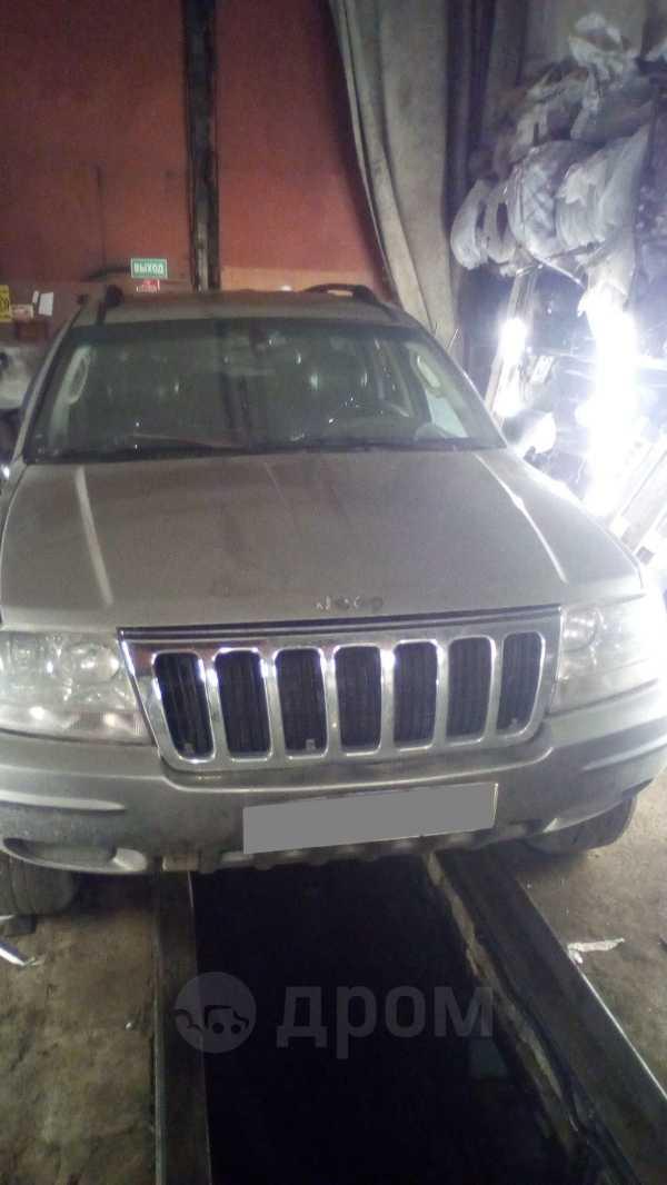 Jeep Grand Cherokee, 2002 год, 400 000 руб.