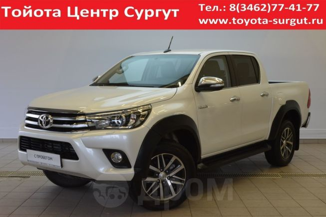 Toyota Hilux Pick Up, 2018 год, 2 540 000 руб.