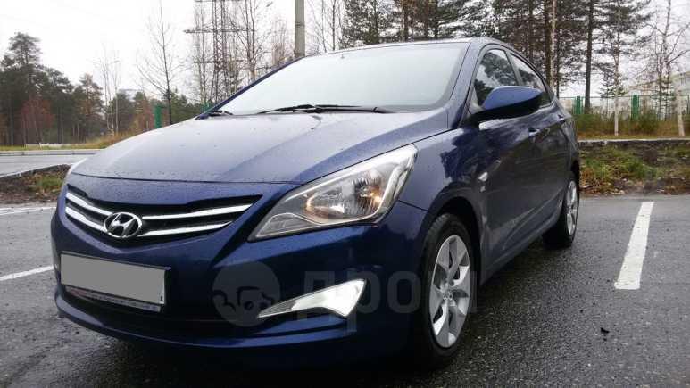 Hyundai Solaris, 2015 год, 605 000 руб.