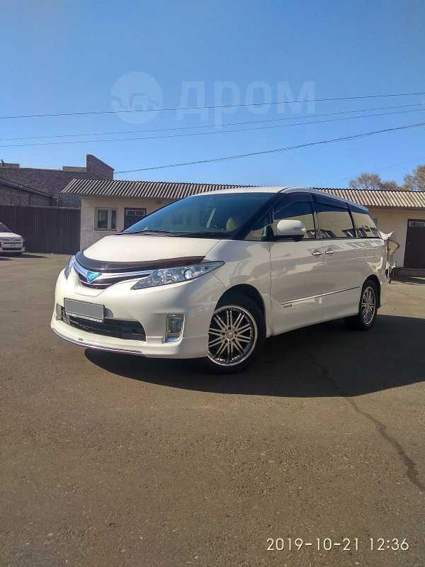 Toyota Estima, 2012 год, 1 255 000 руб.