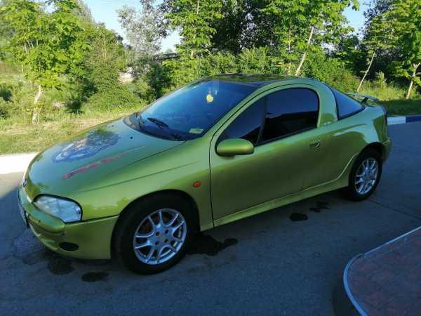 Opel Tigra, 2000 год, 135 000 руб.