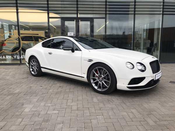 Bentley Continental GT, 2016 год, 6 774 321 руб.