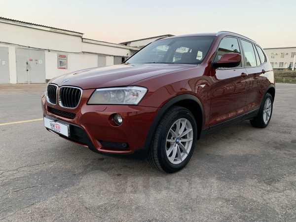 BMW X3, 2012 год, 1 070 000 руб.