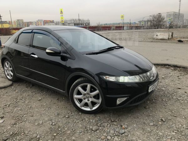 Honda Civic, 2008 год, 500 000 руб.