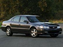Acura TL рестайлинг, 2 поколение, 03.2001 - 08.2003, Седан