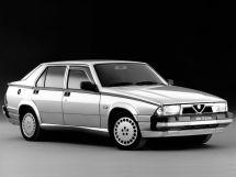 Alfa Romeo 75 рестайлинг 1988, седан, 1 поколение