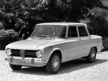 Alfa Romeo Giulia 1962, седан, 1 поколение, 105