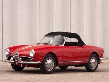 Alfa Romeo Giulietta 1955, открытый кузов, 1 поколение, 750/101