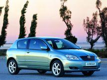 Toyota Corolla 9 поколение, 08.2000 - 05.2005, Хэтчбек 3 дв.