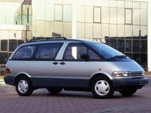 Toyota Previa 1990, минивэн, 1 поколение, XR10