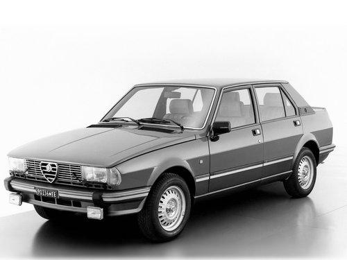 Alfa Romeo Giulietta 1977 - 1985