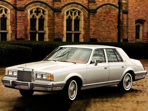 Lincoln Continental 1981 - 1983