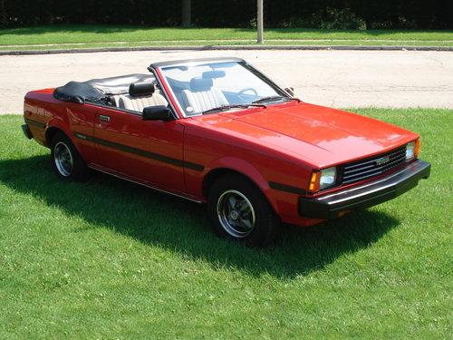 Toyota Corolla 1981 - 1983
