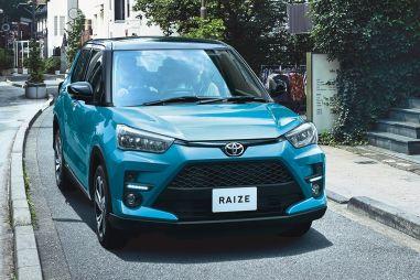 Toyota представила компактный кроссовер Raize
