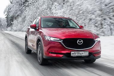 Mazda CX-5 получила в России спецверсию Zima Edition