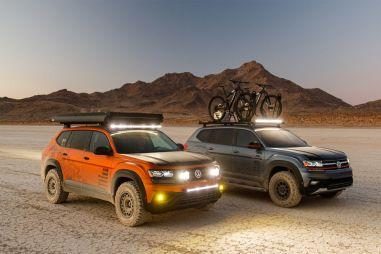 VW показал на выставке SEMA тюнингованные Atlas и Jetta GLI