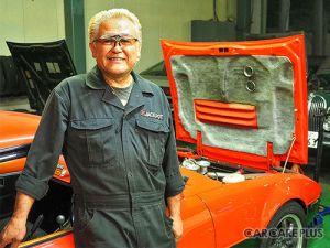 Японец продает уникальную ткань для восстановления салонов ретромашин