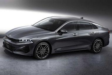 Новая Kia Optima представлена на официальных фотографиях