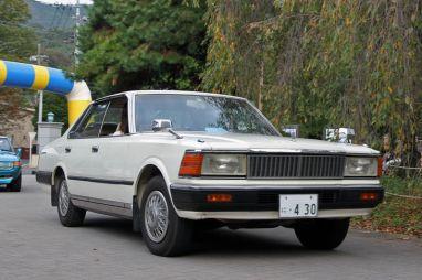 Фоторепортаж с фестиваля ретроавтомобилей в Японии