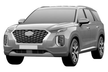 Hyundai запатентовал в России свой самый большой кроссовер