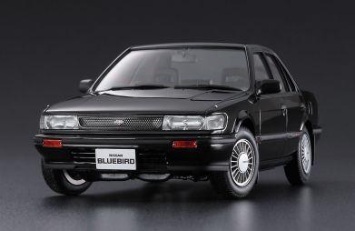 Топовая версия Nissan Bluebird 1987 года выпущена в масштабе 1:24